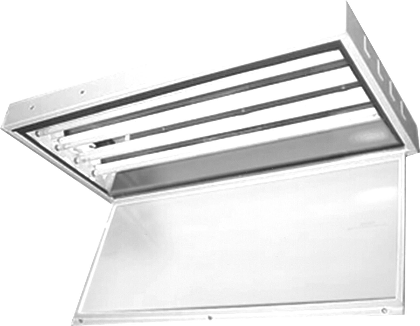 Fluorescent Fixtures Converted To Led Commercial